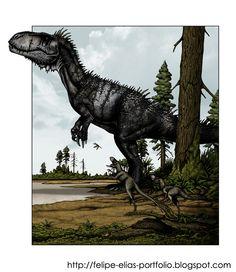 FELIPE ALVES ELIAS - Portfolio: Torvosaurus sp (2011)