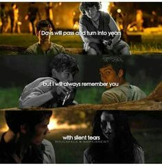 With silent tears. I promise you, my tears will not be silent, as long as Newt is gone