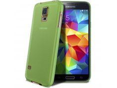 Coque Ultra Fine 0.3mm Frost Samsung Galaxy S5 verte