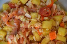 Salade de Blé Hawaienne