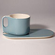 """Tasse à Thé Ti"" modern tea service from French designer Sentou."