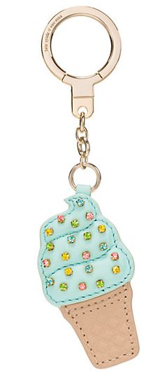 kate spade ice cream key chain