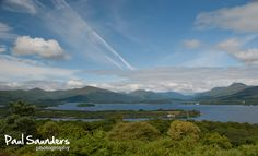 View of Loch Lomond from the top of Inchcailloch Island. Click to purchase as a print.