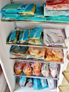 The best list and description of freezer meals! Includes links to recipes and instructions! Pin now, DO LATER!