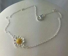 Daisy Anklet, new to the www.crystalandvanilla.co.uk Shop