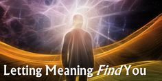If you've been chasing meaning and purpose, you might want to consider this option...  http://www.affirmingspirit.com/blog/2017/09/meaning/