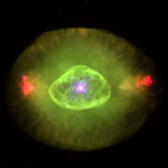 planetary nebula | The Blinking Eye Nebula, a planetary nebula in Cygnus