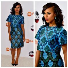 @kerrywashington gives a master class in two piece dressing wearing @marykatrantzou AW15 | Coming soon to www.marykatrantzou.com