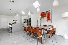 Midland Flooring are Refined Diamond Polished Concrete Flooring experts. Get your FREE Refined Diamond Polished Concrete Floors quote today! Polished Concrete Flooring, Kitchen, Table, Furniture, Content, Diamond, Home Decor, Cooking, Decoration Home