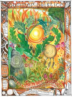 Summer Solstice - love the artwork