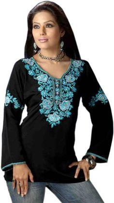 Nice Look Designer Ladies Tunic Top Blouse Kurta
