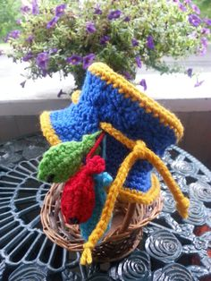 Crocheted Sun Hat by TheRusticBumblebee on Etsy
