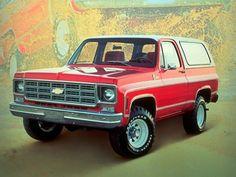 Chevrolet K5 Blazer (1976 – 1978).