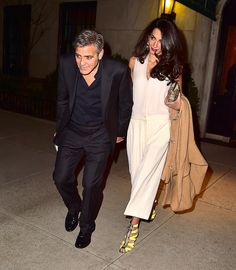 Amal Clooney Aces One of Spring's Best Trends – Vogue