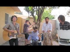 Local Natives -- Cecilia (Simon and Garfunkel acoustic cover)