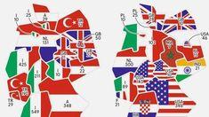 Deutschlandkarte: Binationale Ehen