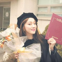 Lee Sung Kyung Graduates from Dongduk Women's University Korean Actresses, Actors & Actresses, Lee Sung Kyung Doctors, Eddy Kim, Picture Cloud, Joon Hyung, Weightlifting Fairy Kim Bok Joo, Park Shin Hye, Korean Celebrities