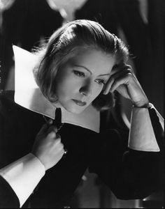 Greta Garbo, Queen Christina (1933).