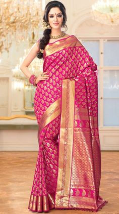 Shop Textile India Fashion Vogue Shravani Brocade #DesignerSaree online at lowest price in USA and purchase various collections of Designer sarees in Textile India Fashion Vogue brand at grabmore.com the best #onlineshopping store in USA.