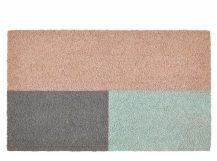 Elkan Fußmatte (45 x 75 cm), Rosa