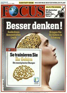 Besser Denken! Gedächtnis, Konzentration, Logik Gefunden in FOCUS Nr. 34/2014