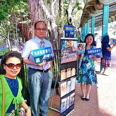 Public witnessing in Hong Kong.