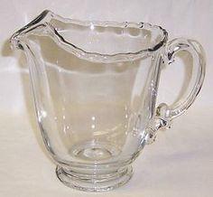 Fostoria Crystal CENTURY 7 Inch High Water or Beverage Pitcher