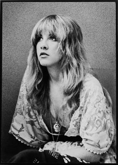 Stevie Nicks. the blonde bombshell with an edge