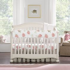 Stunning Luxury Duchess Satin Baby Cot Crib Padded Bows Set Of 2 Any Colour