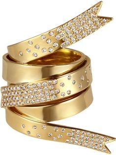 Elena Vosti Gold and Diamond Ring USD 18,040 | Bergdorf Goodman