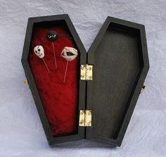 coffin pincushion! :)