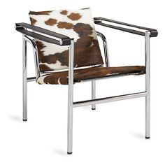 Pierre Cowhide Chair - Modern Accent & Lounge Chairs - Modern Living Room Furniture - Room & Board