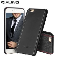 40 best apple images cell phone accessories, iphone 7 plus cases, slot2016 qialino case for iphone 6 4 7 5 5 luxury calf skin genuine leather case for iphone 6s plus ultra slim fashion back cover in fitted cases from