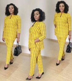 Senator Suit Styles For Ladies by laviye African Maxi Dresses, Latest African Fashion Dresses, African Dresses For Women, African Print Fashion, Africa Fashion, African Attire, Ankara Fashion, African Prints, African Fabric