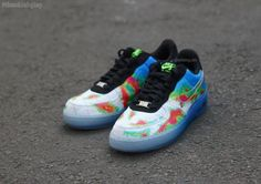 NIKE AIR FORCE 1 PREMIUM LOW WEATHERMAN #sneaker