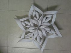 How to Make a 3D Paper Snowflake: 13 Steps (with Pictures)