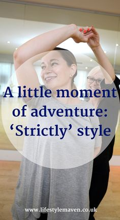 If you were challenged to tick something off your bucket list, what would you do? Here's my little moment of adventure, Strictly style.