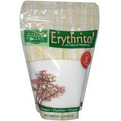 Emerald Forest Sugar, Erythritol, All Natural Sweetener, 1 lb (454 g) - iHerb.com. Bruk gjerne rabattkoden min (CEC956) hvis du vil handle på iHerb for første gang. Da får du $5 i rabatt på din første ordre (eller $10 om du handler for over $40), og jeg blir kjempeglad, siden jeg får poeng som jeg kan handle for på iHerb. :-)