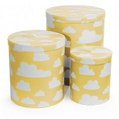 Farg And Cloud Storage Bins Yellow Great Range Of Form Online At