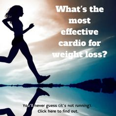 What's the most effective cardio for weight loss? You'll never guess! (And it's not running!) http://wildlyaliveweightloss.com/the-best-cardio-workout/