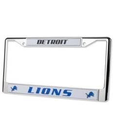 Rico Industries Detroit Lions Chrome License Plate Frame - Silver