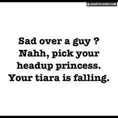 Sad Over A Guy - #Quote, #Sad, #Tiara