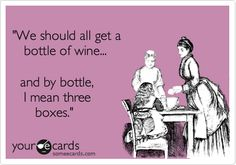 1 bottle of wine is never enough!