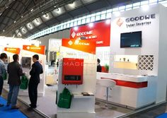 GOODWE Frankfurt, Germany,English Booth Design,Jiangsu GoodWe Power Supply Technology Co., Ltd. Exhibition Hall Planning【Demage English Exhibition Company】
