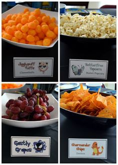 Pokémon Party Foods!