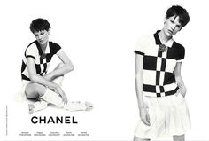 Chanel Resort 2012 Campaign  Saskia de Brauw by Karl Lagerfeld  {via fashionologie } fashion