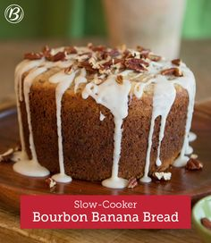 This banana bread is full of surprises. First, it's spiked with the ...