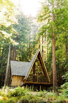 Cabin in the Woods | (by Joe Christensen)