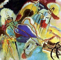 Wassily Kandinsky, Improvisation 30 (les Cannons),1913