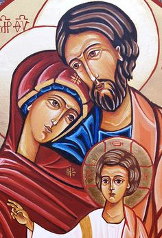 Ikona - Święta Rodzina - : Rozalia Czapla